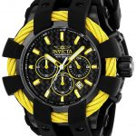 Invicta Bolt Sport Mens Quartz 48mm Black Case Black Dial – Model 23871