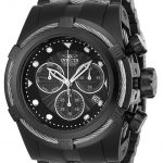 Invicta Bolt Zeus Mens Quartz 53mm Black, Stainless Steel Case Black Dial – Model 23916