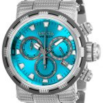 Invicta Specialty Mens Quartz 46mm Stainless Steel Case Blue Dial – Model 23990