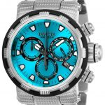 Invicta Specialty Mens Quartz 46mm Stainless Steel Case Blue Dial – Model 23992