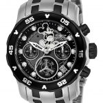 Invicta Disney Limited Edition Mickey Mouse Womens Quartz 38mm Stainless Steel Case Black Dial – Model 24131