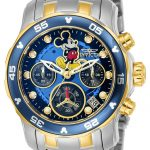 Invicta Disney Limited Edition Mickey Mouse Women's Quartz 38mm Stainless Steel Case Black Dial – Model 24133