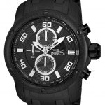 Invicta Pro Diver Mens Quartz 48mm Black Case Black Dial – Model 24157