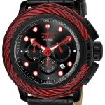 Invicta Bolt Elegant Mens Quartz 52mm Black Case Black Dial – Model 24440