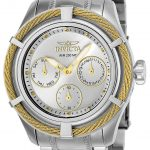 Invicta Bolt Womens Quartz 38.5mm Stainless Steel, Gold Case Silver Dial – Model 24454