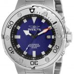 Invicta Pro Diver Mens Automatic 49mm Stainless Steel Case Black Dial – Model 24465