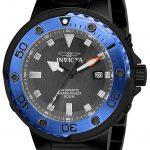 Invicta Pro Diver Mens Automatic 49mm Black Case Grey Dial – Model 24466