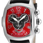 Invicta Disney Limited Edition Mickey Mouse Mens Quartz 43.5mm Stainless Steel Case Red Dial – Model 24523