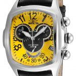 Invicta Disney Limited Edition Mickey Mouse Mens Quartz 43.5mm Stainless Steel Case Yellow Dial – Model 24524