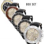 Invicta S1 Rally Mens Automatic 5 Piece Box Set 50mm Stainless Steel Case Black Dial – Model 24739