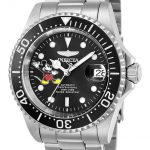Invicta Disney Limited Edition Mickey Mouse Mens Automatic 40mm Stainless Steel Case Black Dial – Model 24753