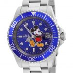 Invicta Disney Limited Edition Mickey Mouse Mens Automatic 40mm Stainless Steel Case Blue Dial – Model 24758