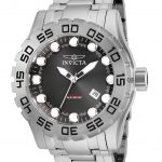 Invicta Pro Diver Mens Automatic 51.5mm Stainless Steel Case Gunmetal Dial – Model 25090