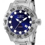 Invicta Pro Diver Mens Automatic 51.5mm Stainless Steel Case Blue Dial – Model 25091