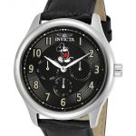 Invicta Disney Limited Edition Mickey Mouse Mens Quartz 43mm Stainless Steel Case Black Dial – Model 25165