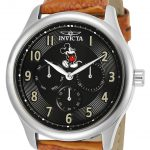 Invicta Disney Limited Edition Mickey Mouse Mens Quartz 43mm Stainless Steel Case Black Dial – Model 25166