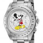 Invicta Disney Limited Edition Mickey Mouse Mens Quartz 39.5mm Stainless Steel Case White Dial – Model 25191