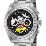 Invicta Disney Limited Edition Mickey Mouse Mens Quartz 39.5mm Stainless Steel Case Black Dial – Model 25192