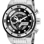 Invicta S1 Rally Mens Quartz 51mm Stainless Steel Case Black Dial – Model 25280