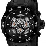 Invicta Pro Diver Mens Quartz 48mm Black Case Black Dial – Model 25334