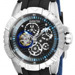 Invicta Pro Diver Mens Automatic 45mm Stainless Steel Case Black, Silver Dial – Model 25410