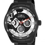 Invicta Disney Limited Edition Mickey Mouse Womens Quartz 38mm Black Case Rainbow Dial – Model 25448