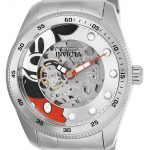 Invicta Disney Limited Edition Mickey Mouse Mens Automatic 44mm Stainless Steel Case Silver Dial – Model 25450