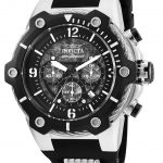 Invicta Bolt Mens Quartz 51.5mm Stainless Steel Case Black Dial – Model 25470