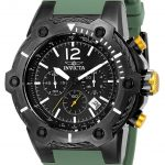 Invicta Bolt Mens Quartz 51.5mm Gunmetal Case Black Dial – Model 25471