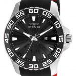Invicta Pro Diver Mens Quartz 48mm Stainless Steel Case Black Dial – Model 25473