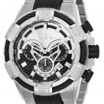 Invicta Bolt Mens Quartz 52mm Stainless Steel Case Black Dial – Model 25544
