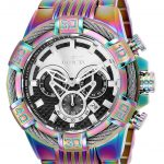 Invicta Bolt Mens Quartz 52mm Rainbow Case Black Dial – Model 25546