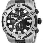 Invicta Bolt Mens Quartz 51mm Stainless Steel Case Black Dial – Model 25551