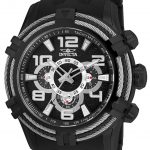 Invicta Bolt Sea Spider Mens Quartz 51mm Black Case Black Dial – Model 25559
