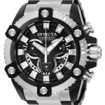 Invicta Coalition Forces Mens Quartz 56mm Black, Stainless Steel Case Black Dial – Model 25583