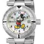 Invicta Disney Limited Edition Mickey Mouse Womens Automatic 38mm Stainless Steel Case White Dial – Model 25671