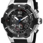 Invicta Bolt Mens Quartz 51.5mm Stainless Steel Case Black Dial – Model 25870