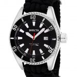 Invicta Pro Diver Mens Automatic 46mm Stainless Steel, Black Case Black Dial – Model 26024