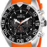 Invicta Speedway Mens Quartz 50mm Stainless Steel Case Black, Silver Dial – Model 26297