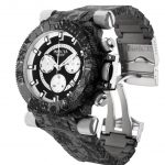 Invicta Coalition Forces Mens Quartz 51mm Stainless Steel Case Black, Silver Dial – Model 26451