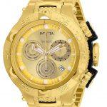 Invicta Subaqua Noma V Mens Quartz 50mm Gold, Black Case Gold Dial – Model 26632
