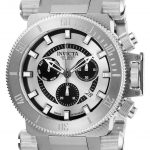 Invicta Coalition Forces Mens Quartz 51mm Stainless Steel Case Silver, Black Dial – Model 26643