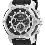 Invicta Bolt Mens Quartz 51.5mm Stainless Steel Case Black Dial – Model 26764