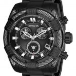 Invicta Bolt Mens Quartz 51 mm Black Case Black Dial – Model 26995