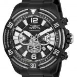 Invicta Bolt Mens Quartz 53mm Black Case Black Dial – Model 27270