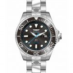 Invicta Pro Diver Mens Automatic 47 mm Stainless Steel Case Black Dial – Model 27610