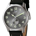 Invicta I-Force Quartz Watch – Stainless Steel case with Black tone Leather band – Model 5459