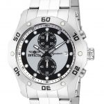Invicta Signature Quartz Watch – Stainless Steel case Stainless Steel band – Model 7382