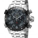Invicta Specialty Mens Quartz 48mm Black, Stainless Steel case Stainless Steel band – Model 80226