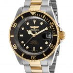 Invicta Pro Diver Men's Automatic 40mm Gold, Stainless Steel Case Black Dial – Model 8927ob